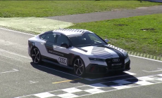Audi RS 7 piloted driving concept @ Hockenheim
