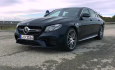 Mercedes-AMG E 63 S 4Matic Acceleration 0-250 km-h
