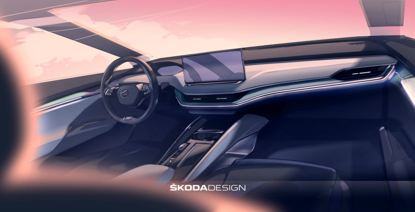 skoda-ev-interior
