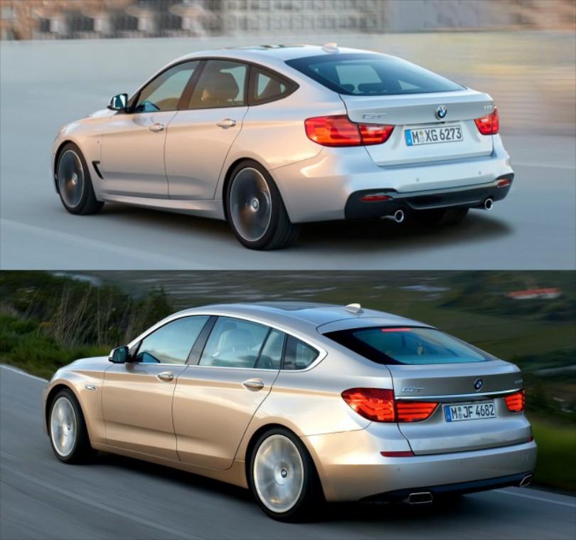 BMW 3 GT vs 5 GT