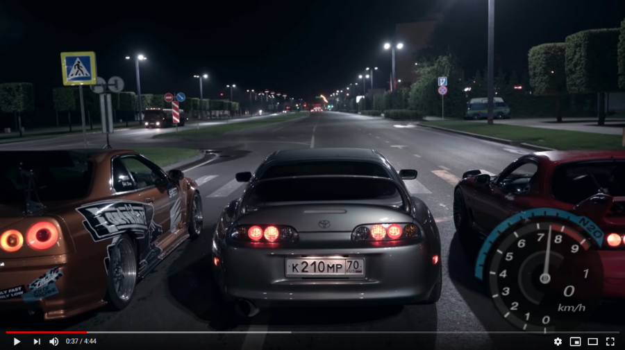 NEED FOR SPEED ΜΕ ΠΡΑΓΜΑΤΙΚΑ ΑΥΤΟΚΙΝΗΤΑ! (VIDEO)