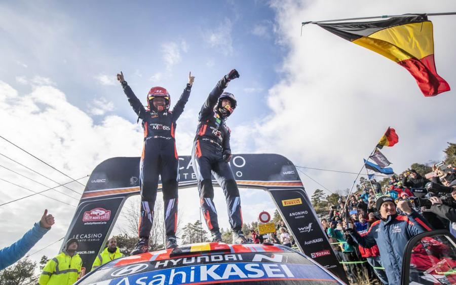 WRC ΜΟΝΤΕ ΚΑΡΛΟ: ΠΡΩΤΗ ΝΙΚΗ ΓΙΑ ΤΟΝ NEUVILLE (VID)