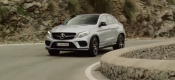 O L.Hamilton δοκιμάζει τη νέα Mercedes-Benz GLE Coupe (VIDEO)