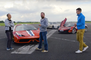 Κόντρα Nissan GT-R vs Ferrari 458 S vs McLaren 650S (video)