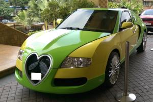 Τραγική αντιγραφή μιας Bugatti Veyron