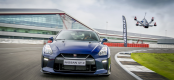 Nissan GT-R drone 0-100 km/h σε 1,3 sec (video)