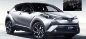 Αποκαλύφθηκε το εσωτερικό του Toyota C-HR