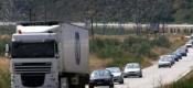 Πρόστιμα για φορτηγά σε παράδρομους χωρίς άδεια