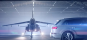 Κόντρα Audi SQ7 vs Alpha Jet Red Bull (video)