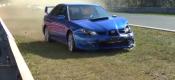 Διπλό χτύπημα δέχτηκε το Subaru Impreza (video)