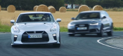 Audi RS6 προκαλεί το νέο Nissan GT-R (video)