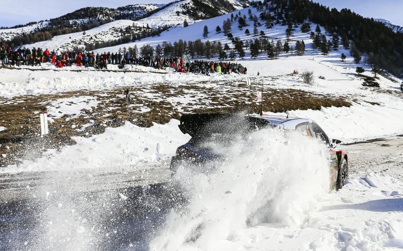 Εκκίνηση στο WRC με το Μόντε Κάρλο (vid)