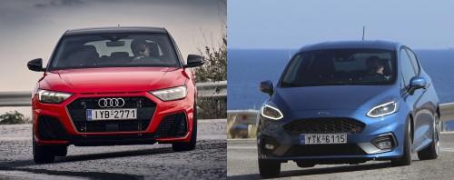 ΔΟΚΙΜΗ: Ford Fiesta ST και Audi A1 S line