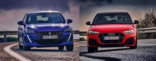Δοκιμή: Audi A1 ή Peugeot 208;
