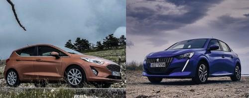 Δοκιμή: Peugeot 208 ή Ford Fiesta;