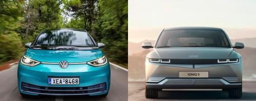 Αμιγώς ηλεκτρικά: Volkswagen ID.3 ή Hyundai Ioniq 5; - Δείτε τι ψηφίσατε