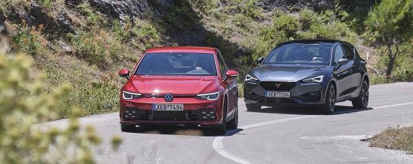 Σπορ hatchback με 245 ίππους: Cupra Leon eHybrid ή VW Golf GTi;