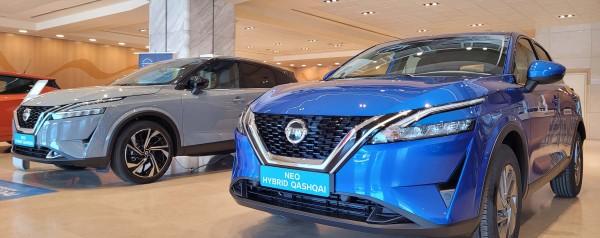 Το νέο Nissan Qashqai κατέφθασε στις ελληνικές εκθέσεις