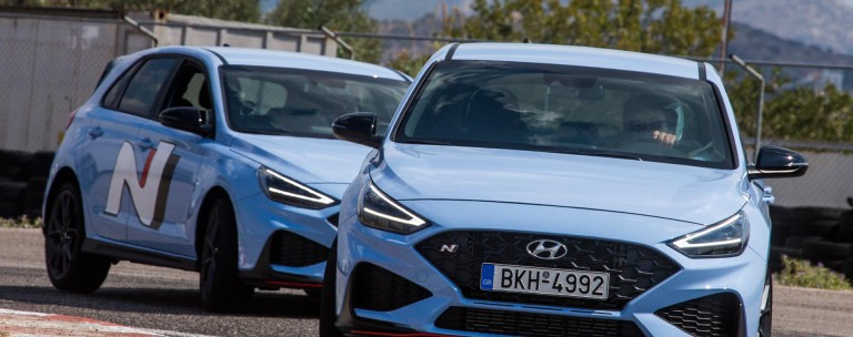 Hyundai N models range – Οδηγούμε στην πίστα των Μεγάρων τα i20 N, i30 Ν και Kona N