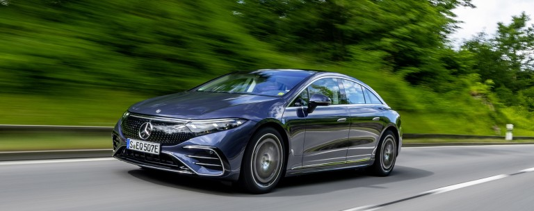 Mercedes EQS: Ψηφιδωτό του μέλλοντος