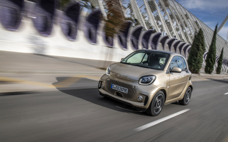 FORTWO COUPE EQ