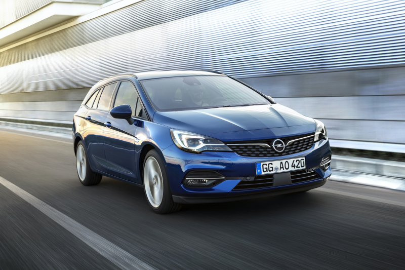 ASTRA SPORTS TOURER 1.5D 122PS GS Line 2020 Auto
