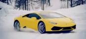 VIDEO: Τι γυρεύουν οι Lamborghini στα χιόνια;
