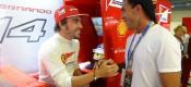 Εκνευρισμένος ο Alonso με τις φήμες περί Vettel