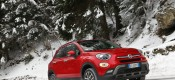 To Fiat 500X πάνω στο χιόνι (VIDEO)