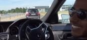 L.Hamilton driftάρει με μία E63 AMG (VIDEO)