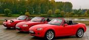 Οι 3 γενιές του Mazda MX-5