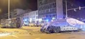 BMW 7άρα υπό δοκιμή τρακάρει με όχημα της Αστυνομίας
