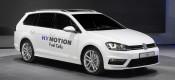 VW Golf SportWagen HyMotion