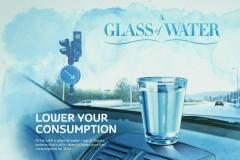 Ένα ποτήρι νερό μειώνει 10% την κατανάλωση
