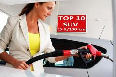 TOP 10 SUV σε κατανάλωση καυσίμου
