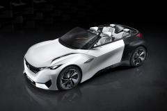Peugeot Fractal concept (VIDEO)