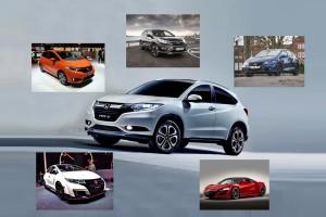 6 νέα μοντέλα της Honda