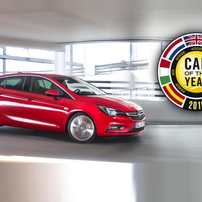 Το Opel Astra είναι το «Αυτοκίνητο της Χρονιάς» 2016