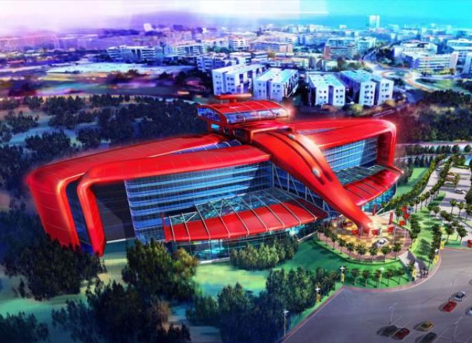 Ferrari Land ανοίγει το 2016