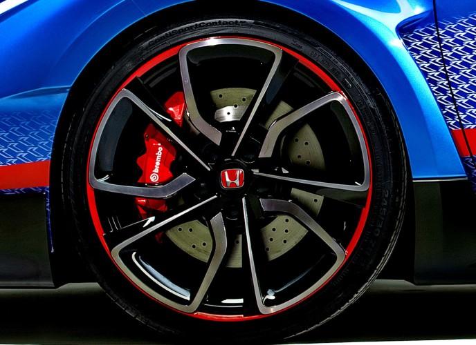 Νέο Honda Civic Type R στο Παρίσι