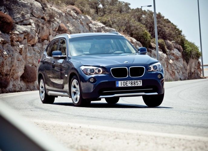 test bmw x1 sdrive18i 2009. Black Bedroom Furniture Sets. Home Design Ideas