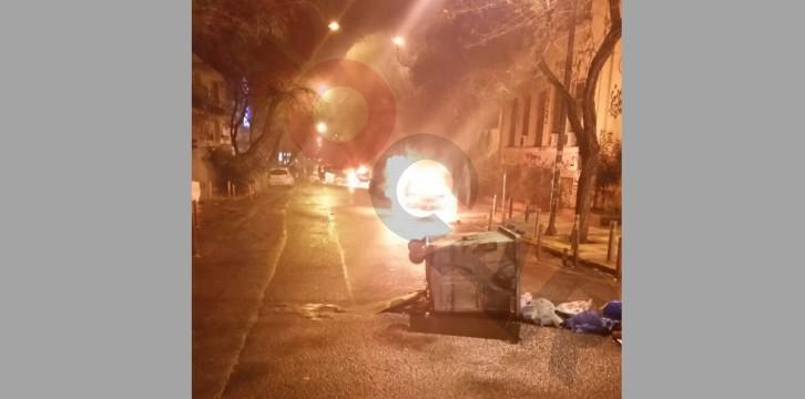 Επεισόδια στην Αθήνα από τη χθεσινή πορεία
