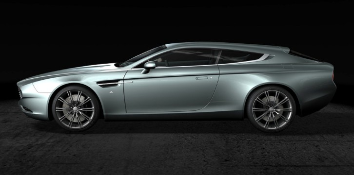 Aston Martin Virage Shooting Brake by Zagato