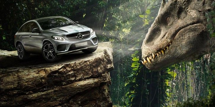 H GLE Coupe στη νέα ταινία Jurassic World (VIDEO)