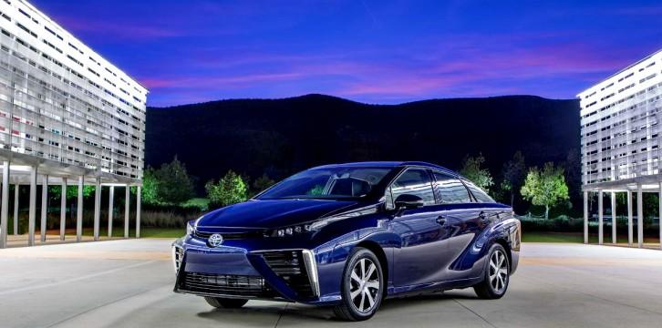 Toyota Mirai με κυψέλες υδρογόνου