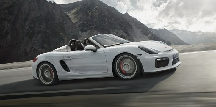 Η νέα Porsche Boxster Spyder (VIDEO)
