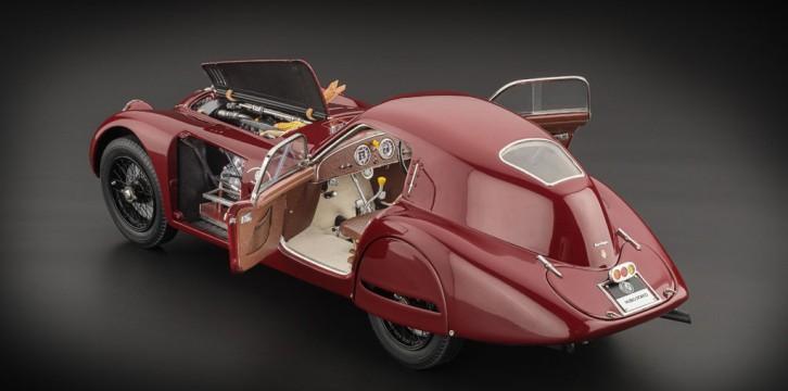 Alfa Romeo 8C 2900B: Ανάπλαση