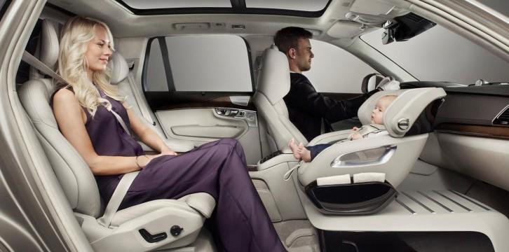 Νέο περιστροφικό παιδικό κάθισμα από τη Volvo (VIDEO)