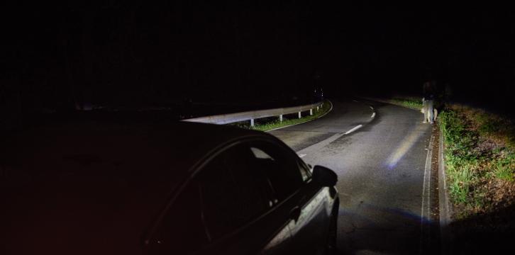 Ford: Φώτα που εντοπίζουν ανθρώπους και ζώα στο σκοτάδι