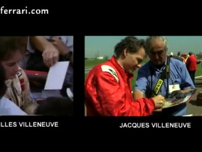 Villeneuve takes his father\'s legend back on the track